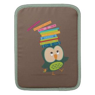 Cute little book owl sleeve for iPads