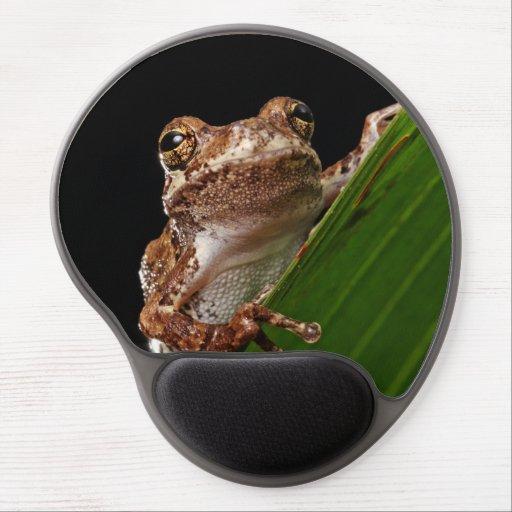 Cute Little Brown Frog Gel Mousepads