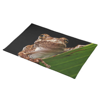 Cute Little Brown Frog Placemat