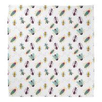cute little bugs insects bandana