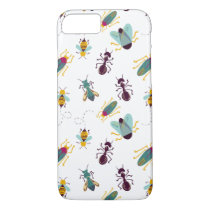 cute little bugs insects iPhone 7 case