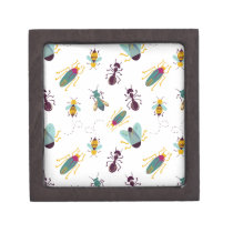 cute little bugs insects jewelry box