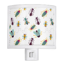 cute little bugs insects night light