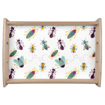 cute little bugs insects tray
