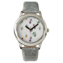 cute little bugs insects wristwatch