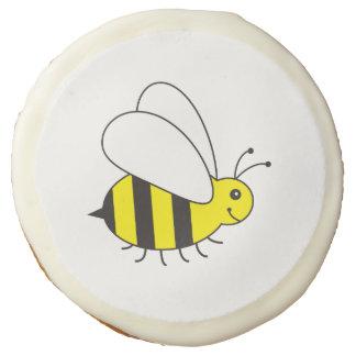 Cute Little Bumble Bee Cartoon Sugar Cookie