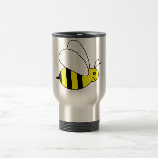 Cute Little Bumble Bee Honey Farm Travel Mug