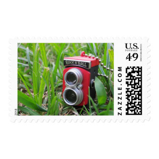 Cute Little Camera Postage