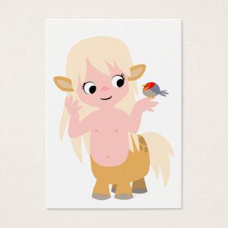 Cute Little Cartoon Centauress ACEO- Business Card
