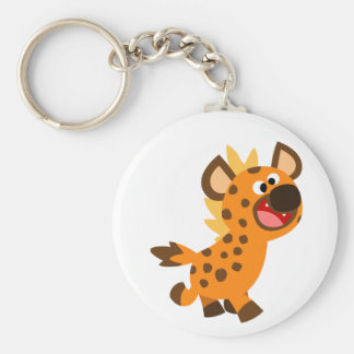 Cute Little Cartoon Hyena Keychain