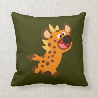 Cute Little Cartoon Hyena Pillow