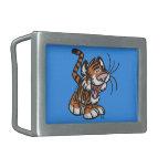 Cute Little Cartoon Tiger Belt Buckle