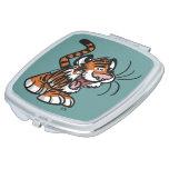Cute Little Cartoon Tiger Compact Mirror