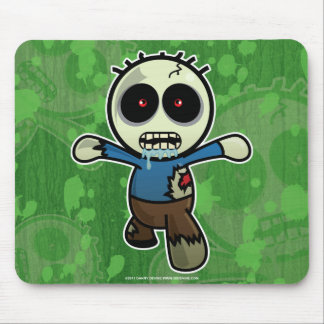 Cute Little Cartoon Zombie Mouse Pad