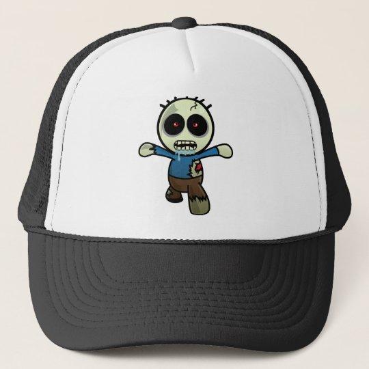 Cute Little Cartoon Zombie Trucker Hat