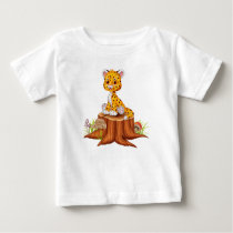 Cute little Cheetah Baby T-Shirt
