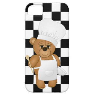 Cute Little Chef Costume Teddy Bear Cartoon iPhone SE/5/5s Case
