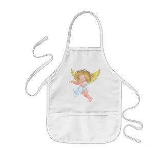 Cute little cherub kids' apron