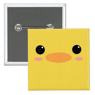 Cute Little Chick Button