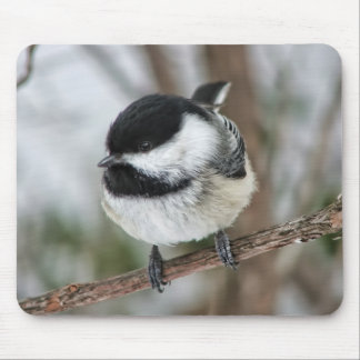 Cute Little Chickadee Mouse Pad