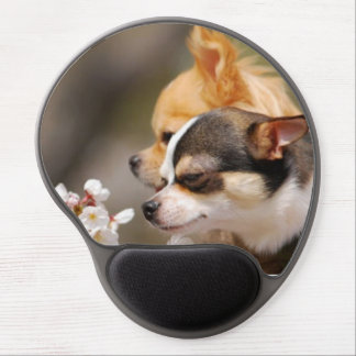 Cute Little Chihuahua Pups Gel Mouse Pad