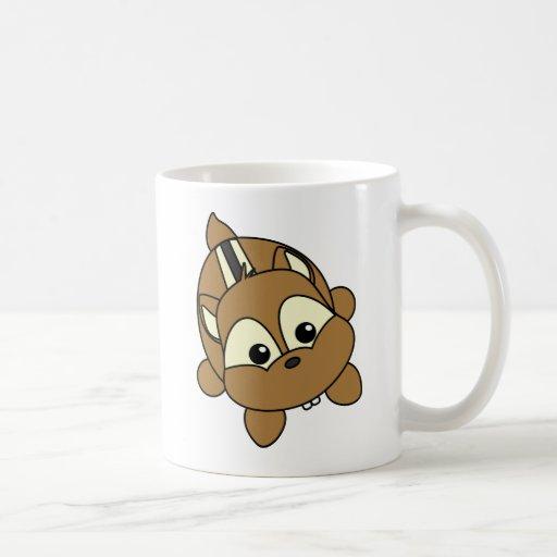 Cute Little Chipmunk Critter Classic White Coffee Mug
