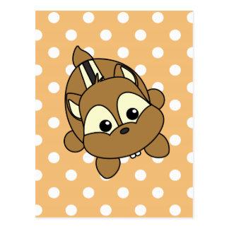 Cute Little Chipmunk Critter Postcard