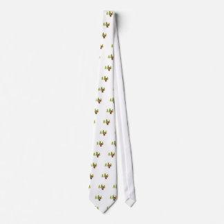 Cute Little Christmas Beaver Neck Tie