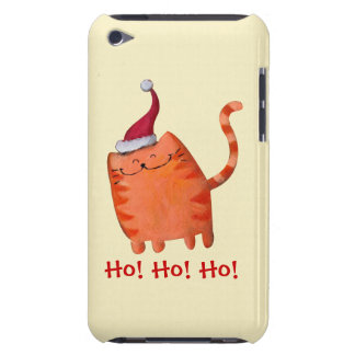 Cute Little Christmas Cat iPod Touch Cases