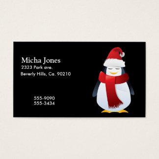 Cute Little Christmas Penguin Business Card