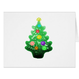Cute Little Christmas Tree Large Greeting Card