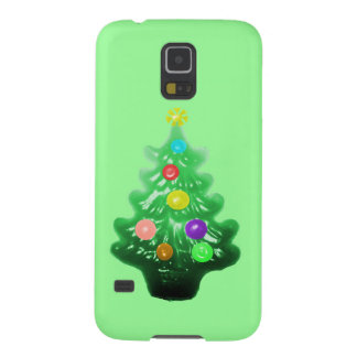 Cute Little Christmas Tree Galaxy S5 Cover
