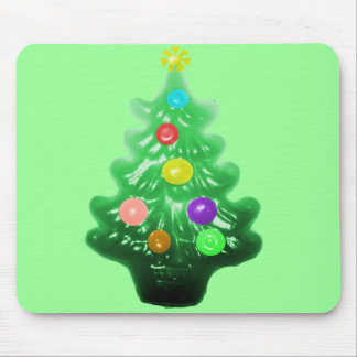 Cute Little Christmas Tree Mouse Pad