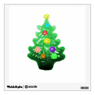Cute Little Christmas Tree Wall Decals
