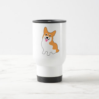 Cute Little Corgi Travel Mug