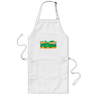 cute little crocodile apron