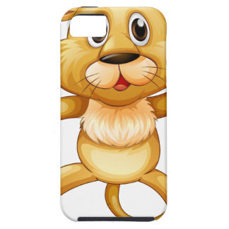 Cute little cub jumping iPhone SE/5/5s case