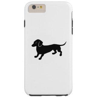 Cute Little Dachshund Tough iPhone 6 Plus Case