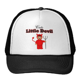 Cute Little Devil Trucker Hat
