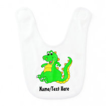 Cute little Dinosaur Baby Bib