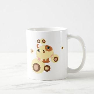cute little dog classic white coffee mug