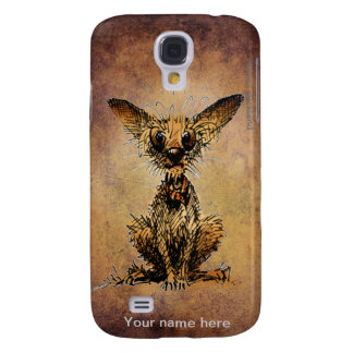 Cute Little Dog Galaxy S4 Cover