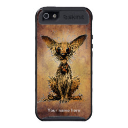 Cute Little Dog iPhone 5 Cover