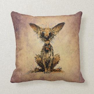 Cute Little Dog Throw Pillows