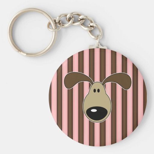 Cute Little Doggy Face Key Chain