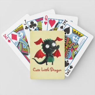 Cute Little Dragon Bicycle Card Decks