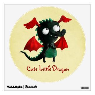 Cute Little Dragon Room Decal