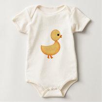 Cute Little Duck Infants Onsie Baby Bodysuit
