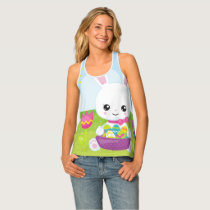 Cute Little Easter Bunny Tank Top
