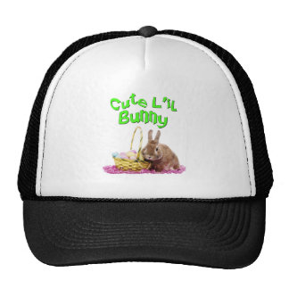 Cute Little Easter Bunny with Easter Eggs Trucker Hat